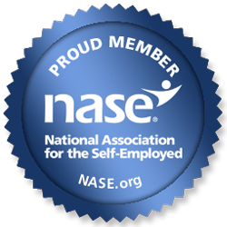 Proud Member of The National Association for the Self-Employed.