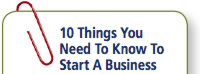 How to start a business - 10 Things you need to know