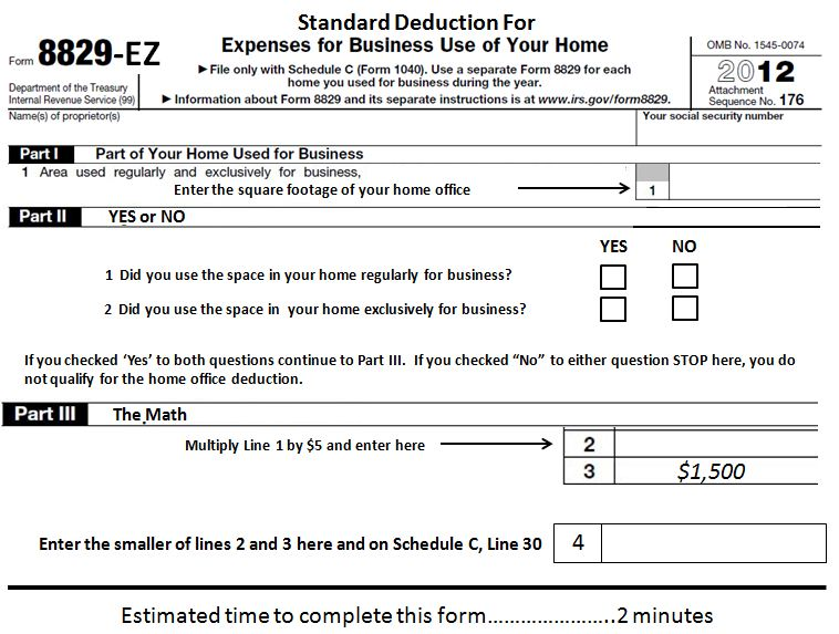 Learn More About The Simplified Home Office Deduction