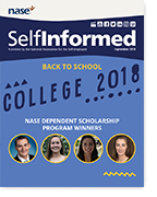 NASE SelfInformed Cover September 2018